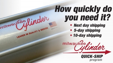 Milwaukee Cylinder Quick Ship Program