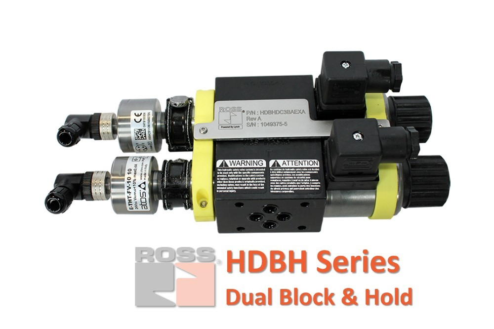 Ross Controls Hydraulic Dual Block and Hold
